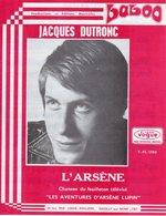 PARTITION L'ARSENE DE LANZMANN / BOURTAYRE PAR JACQUES DUTRONC - 1970 - EXC ETAT PROCHE DU NEUF - - Music & Instruments