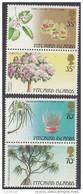 PITCAIRN Is, 1983 TREES  PAIRS(VERT) MNH - Francobolli