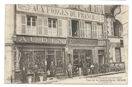 SAINT-POURÇAIN-SUR-SIOULE (Allier) Vue De La Quincaillerie AUDIN - Droguerie Aux Forges De France - Animé - Non Classificati