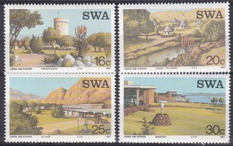 Südwestafrika SWA Namibia 1987 Wirtschaft Economy Tourismus Tourism Hotels Bauwerke Buildings, Mi. 609-2 ** - África Del Sudoeste (1923-1990)