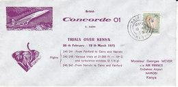 Concorde , Trials Over Kenya, 1975 - Kenya (1963-...)