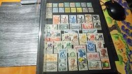 DM107 LOT FEUILLES COLONIES A TRIER COTE++ DÉPART 10€ - Collections (sans Albums)