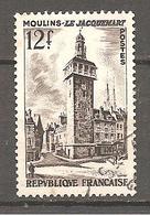 FRANCE 1955 Y T N ° 1025 Oblitéré Cachet Rond - Francia
