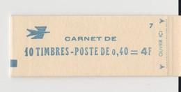 CARNET 1536B C1 CHEFFER A 0,40 CONF 7 EN PARFAIT ETAT - Freimarke