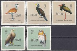 POLSKA - POLONIA - 1960 - Lotto Di 5 Valori Nuovi MNH: Yvert 1070, 1072,1073, 1075 E 1077. - 1944-.... Repubblica