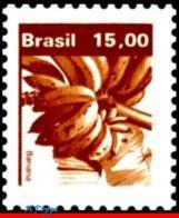 Ref. BR-1665 BRAZIL 1983 FRUITS, ECONOMIC RESOURCES,, BANANAS, MNH 1V Sc# 1665 - Brazilië