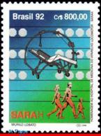 Ref. BR-2390 BRAZIL 1992 HEALTH, HOSPITAL OF MEDICINE AND, ORTHOPEDICS, SARAH, MI# 2499, MNH 1V Sc# 2390 - Brazilië