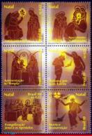 Ref. BR-2729 BRAZIL 1999 CHRISTMAS, RELIGION,, MI# 2980-85, SET MNH 6V Sc# 2729 - Ungebraucht