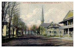 New York  Union , Union Street  Showing M.E.Church , Parsonage - NY - New York