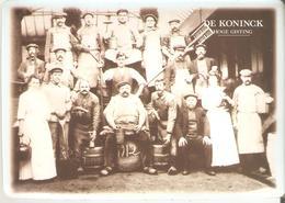 De Koninck - Emailplaatje In Zeer Goede Staat ! - Grootte Van Een Postkaart - Antwerpen