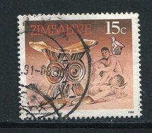 ZIMBABWE- Y&T N°196- Oblitéré - Zimbabwe (1980-...)