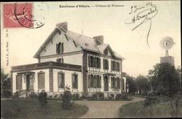Cp Illiers Combray Eure Et Loir, Château De Plaisance - France