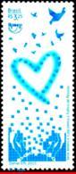 Ref. BR-3310 BRAZIL 2015 HUMAN RIGHTS, FIGHT AGAINST HUMAN, TRAFFICKING, UPAEP, AMERICA ISSUE, MNH 1V Sc# 3310 - Brasilien