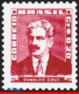 Ref. BR-789 BRAZIL 1954 FAMOUS PEOPLE, OSWALDO CRUZ, DOCTOR AND, SCIENTIST, MNH 1V Sc# 789 - Ungebraucht