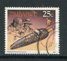 ZIMBABWE- Y&T N°201- Oblitéré - Zimbabwe (1980-...)