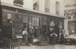 PARIS 19E MEUBLES DEHER 216 RUE DE BELLEVILLE CARTE PHOTO - Arrondissement: 19