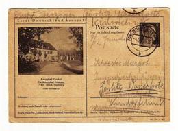 Deutsches Reich / 1943 / KNEIPPBAD ZIRNDORF, FORCHHEIM (OBERFR) STAMP - Germany