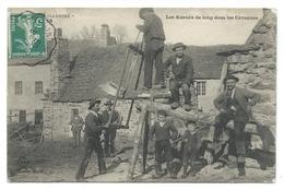 Le Puy En Velay Illustré (Haute-Loire, 43) Les Scieurs De Long Dans Les Cévennes - Beau Plan Animé - France