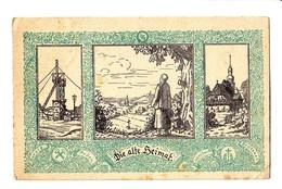 Schlesien, Die Alte Heimat, Zeche, Kirche, Borsig, Eichendorff, Abstimmungskarte 1921 - Schlesien