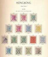 Hong Kong Reina Victoria 1882-1902 / 16 Val. Serie Completa Con Variedades / Ca - Hong Kong (...-1997)