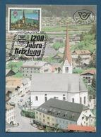 Österreich  1988  Mi.Nr. 1929 , 1200 Jahre Brixlegg - Maximum Card - Brixlegg 1.7.1988 - Maximumkarten (MC)