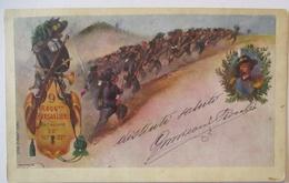Italien Regimentskarte 9. Bersaglieri Regiment Ca. 1900 Aus Adi Ugri (62945) - Guerra 1914-18