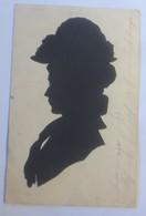 Original Scherenschnitt, Frauen, Hutmode, 1901 ♥ (66239) - Scherenschnitt - Silhouette