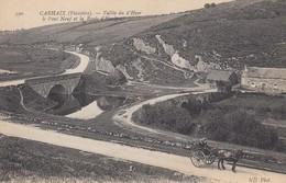 CARHAIX: Vallée Du D'Hyer, Le Pont Neuf Et La Route D'Huelgoat - Carhaix-Plouguer