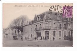 3 - THOUARS - L'Hôtel Des P.T.T. Et La Salle Des Fêtes - Thouars