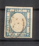 4488 - Province Napoletane - 2 Gr - Azzurro Chiaro - Anno 1861 - Napoli