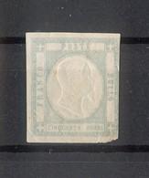 4496 - Province Napoletane - 50 Gr - Grigio Perla - Anno 1861 - Napoli