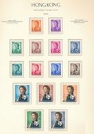 Hong Kong Elisabet II 1962 (15 Sellos) **/MNH 194/208 - Nuevos
