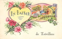 25 - CPA Fantaisie Un  Baiser De Trevillers - Francia