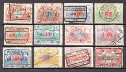 Belgium Used Stamps - Bahnwesen