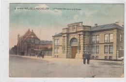 Malines. Le Caserne D'Artillerie Et La Prison. - Malines