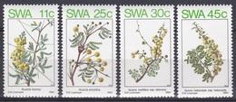 Südwestafrika SWA Namibia 1984 Pflanzen Plants Flora Blumen Blüten Flowers Baum Bäume Trees Akazien, Mi. 562-5 ** - África Del Sudoeste (1923-1990)