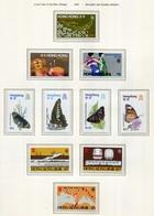 Hong Kong Año 1979 (10 Sellos) **/MNH 344/53 - Années Complètes