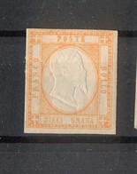 4492 - Province Napoletane - 10 Gr - Arancio - Anno 1861 - Napoli