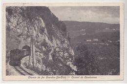 CPA De Chemin De Fer Yverdon Sainte Croix, Tunnel De Covatannaz - VD Vaud