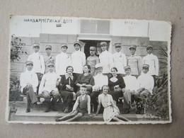 Serbia / Vrnjci - Žandarmeriski Dom, 1936 / Officers - FOTO STOJANOVIĆ ( Photo Postcard ) - Serbie