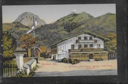 """AK 0411  Bayrisch Zell - Gasthof Zum """" Wendelstein """" / Künstlerkarte Um 1910-20 - Miesbach"""