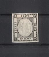 4484 - Province Napoletane - 1 Gr - Nero - Anno 1861 - Napoli