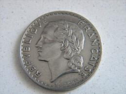 FRANCE - 5 FRANCS LAVRILLIER 1933. - J. 5 Franchi