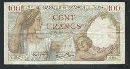 France - 100 Francs Sully N° Y.1247 LAURA 4802 - 1871-1952 Antiguos Francos Circulantes En El XX Siglo