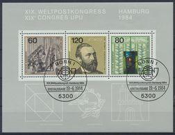 BRD 1984 / MiNr.   Block 19 Sonderstempel    O / Used  (K_60_56) - [7] République Fédérale