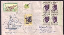 Argentina - 1998 - Lettre - Centenaire De La Naissance De Rabindranath Tagore - Persönlichkeiten