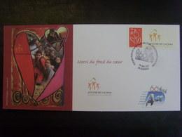 18211-CP Amicale Des Chefs D'Etablissement De La Poste Affranchie Avec TP Marianne De Lamouche Personnalisé - Frankreich