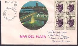 Argentina - 1961 - Lettre - Centenaire De La Naissance De Rabindranath Tagore - Persönlichkeiten