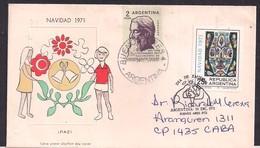 Argentina - 1971 - Lettre - Centenaire De La Naissance De Rabindranath Tagore - Persönlichkeiten