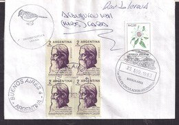 Argentina - 1983 - Lettre - Centenaire De La Naissance De Rabindranath Tagore - Persönlichkeiten